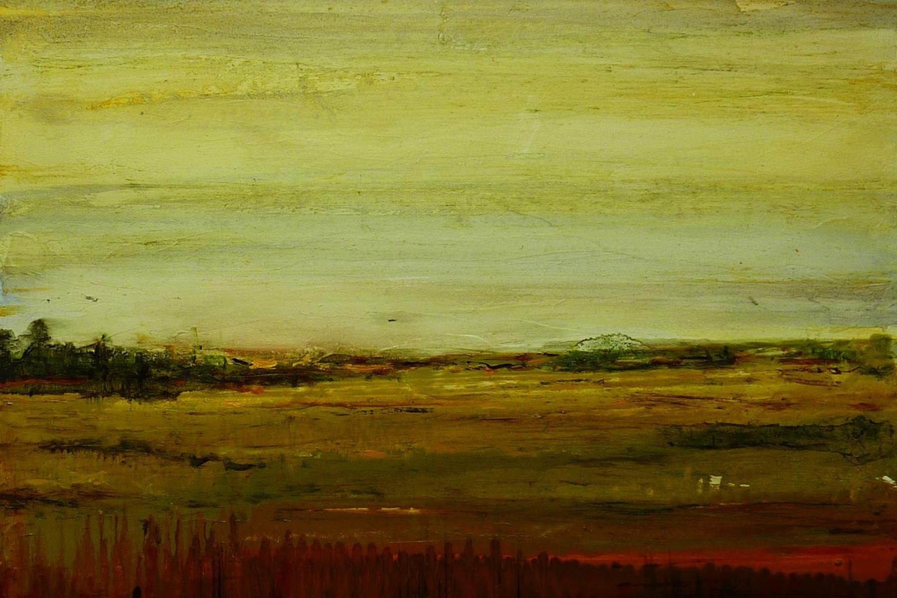 the forgotten field | dreamscapes | Artist painter Kim Pollard | Canada | Pacific Northwest