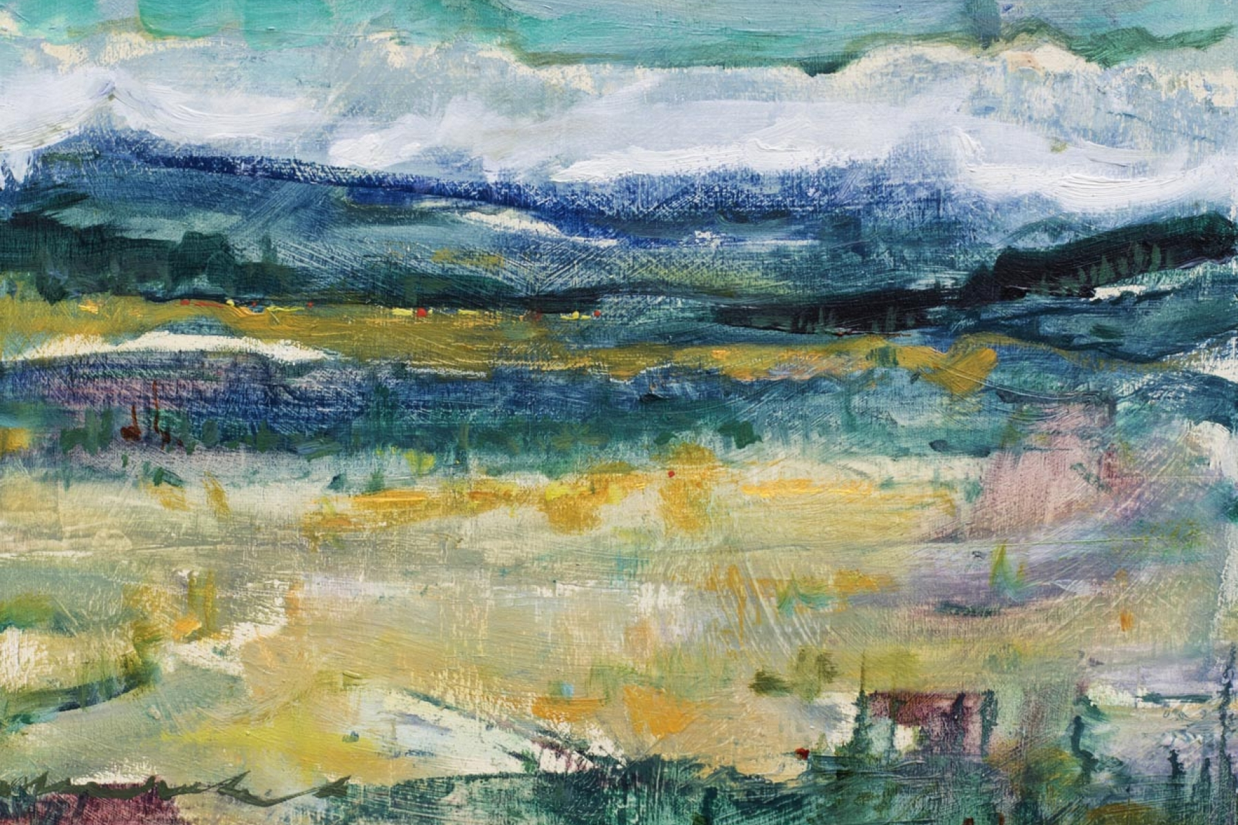 the olde west | dreamscapes | Artist painter Kim Pollard | Canada | Pacific Northwest